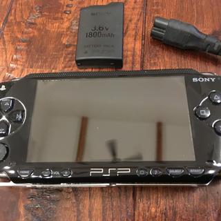 ソニー(SONY)のPSP-1000 本体 中古品 ジャンク(携帯用ゲーム本体)