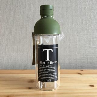 ハリオ(HARIO)のハリオ ガラスティーボトル フィルターインボトル(容器)