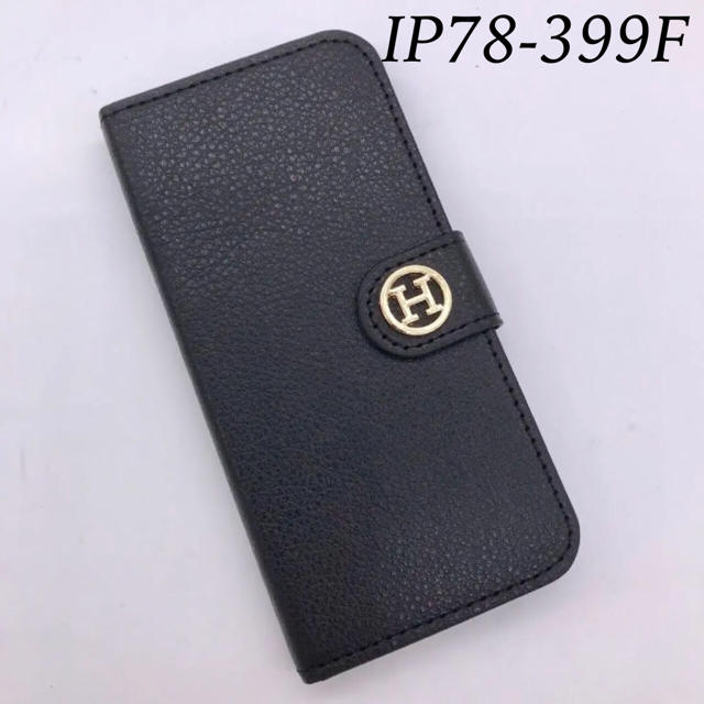 NoaHsarK❤︎iPhone7&8兼用手帳型ケース 78−399F ブラックの通販 by めろん's shop|ラクマ