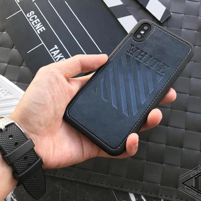 fendi iphonex ケース 革製 | OFF-WHITE - (値下げしました)ストリートiPhoneケースの通販 by ポケモンshop|オフホワイトならラクマ