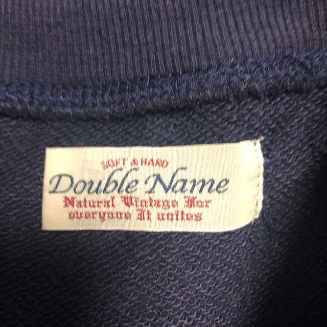 DOUBLE NAME(ダブルネーム)のDouble Name スウェット レディースのトップス(トレーナー/スウェット)の商品写真