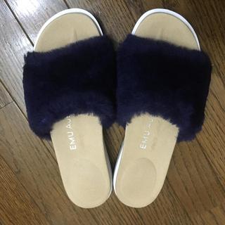 エミュー(EMU)のemu エミュー ムートン スリッパサンダル Robe(サンダル)