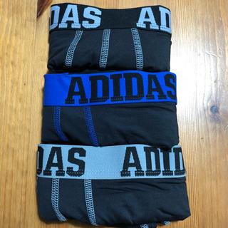 アディダス(adidas)の【新品】アディダス ボクサーパンツ サイズS 3枚組 メンズ下着 adidas(ボクサーパンツ)