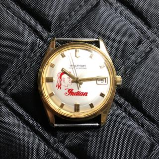 ウォルサム(Waltham)のWALTHAM ヴィンテージウォッチ インディアンロゴ ジャンク扱いで(腕時計(アナログ))