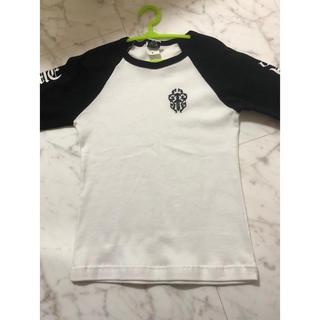 クロムハーツ(Chrome Hearts)のクロムハーツ ベースボールTシャツ 子供服(Tシャツ(長袖/七分))