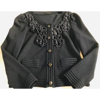 コトゥー(COTOO)のCocoさま専用‼️美品!コトゥー  ニットジャケット(ノーカラージャケット)