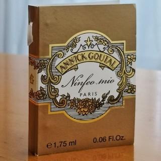 アニックグタール(Annick Goutal)のニンフェオミオ(アニックグタール)EDTサンプ(香水(女性用))