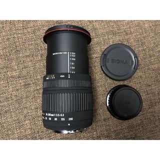 ペンタックス(PENTAX)のsigma シグマ 18-200mm F3.5-6.3 DC PENTAX用(レンズ(ズーム))