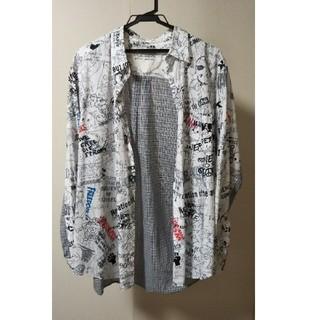 ノゾミイシグロ(NOZOMI ISHIGURO)のNOZOMI ISHIGURO 落書きシャツ(シャツ)