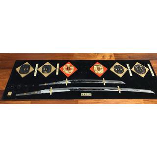 日本刀(模造刀) 額飾りの中身(武具)