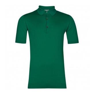 ジョンスメドレー(JOHN SMEDLEY)のJohn Smedley Adrian メンズ ニット ポロ 緑(ポロシャツ)