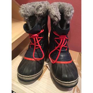 ソレル(SOREL)のsorel  kids  snow スノーブーツ NV 21(長靴/レインシューズ)