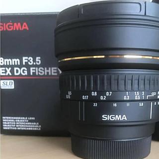 シグマ(SIGMA)の【再値下げ】SIGMA 8mmF3.5 円周魚眼レンズ(レンズ(単焦点))