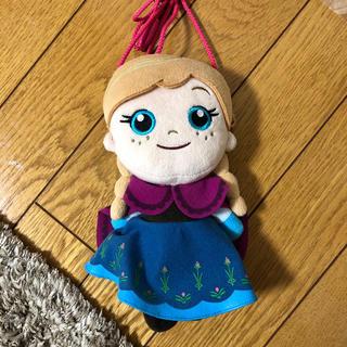 アナトユキノジョオウ(アナと雪の女王)のアナ雪ぬいぐるみポシェット 美品(ポシェット)