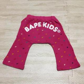 アベイシングエイプ(A BATHING APE)の最終値下げ!【美品】BAPE KIDS パンツ 70(パンツ)