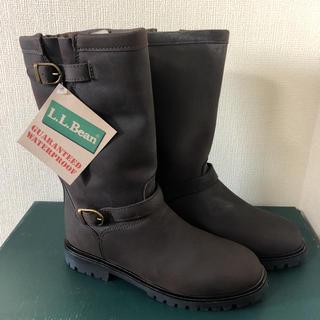 エルエルビーン(L.L.Bean)の新品 未使用 美品 L.L.Bean レディース エンジニアブーツ 革靴(ブーツ)