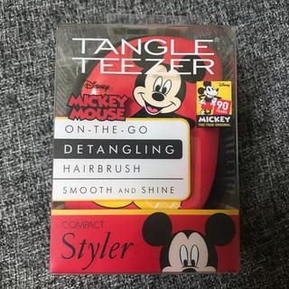 ディズニー(Disney)のタングルティーザー コンパクト スタイラー ミッキー(ヘアブラシ)