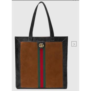 グッチ(Gucci)の新品 GUCCI 国内未発売 オフィディアスエード ラージ トートバッグ(トートバッグ)