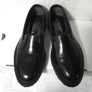 トリッカーズ(Trickers)のarts&science  ×ADIEV レザー スリッポン 24.5cm(ローファー/革靴)