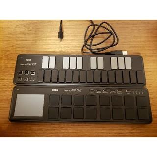 コルグ(KORG)のKORG nano PAD2,KEY2(MIDIコントローラー)
