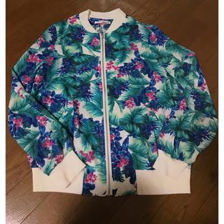 ツインルーム(TWNROOM)のTWNROOM M-A シースルー ハワイ 花柄 ジャケット 羽織 アウター(その他)