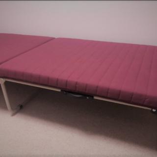 【撮影のみの開封】MR ironstone 折りたたみベッド(簡易ベッド/折りたたみベッド)