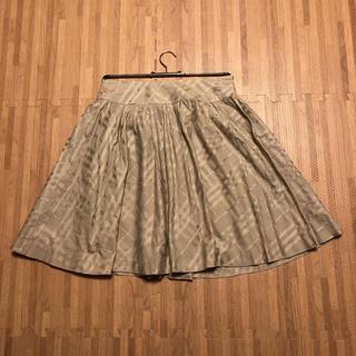 バーバリー(BURBERRY)のバーバリー  フレアスカート(ひざ丈スカート)