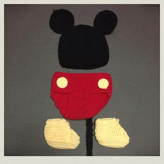 ディズニー(Disney)のミッキー ベビーコスチューム(その他)