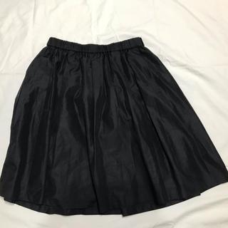 シュガーローズ(Sugar Rose)の黒 ひざ上スカート(ひざ丈スカート)