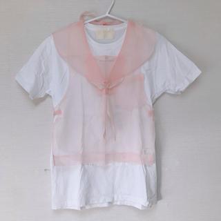 ケイスケカンダ(keisuke kanda)のkeisuke kanda ケイスケ カンダ セーラーTシャツ(Tシャツ(半袖/袖なし))