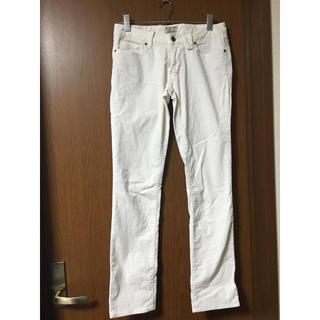 ポロラルフローレン(POLO RALPH LAUREN)の白のズボン(カジュアルパンツ)