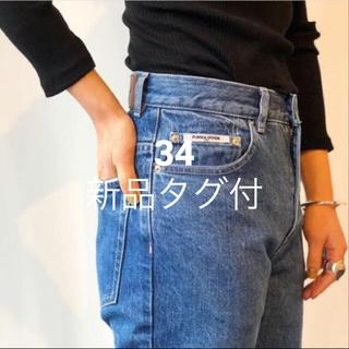 ジョンリンクス(jonnlynx)の【新品タグ付】fumika uchida デニム washed blue 34(デニム/ジーンズ)
