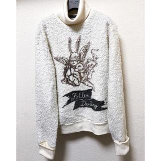 ミルクボーイ(MILKBOY)のmilkboy  rabbit knit タートルニット(ニット/セーター)