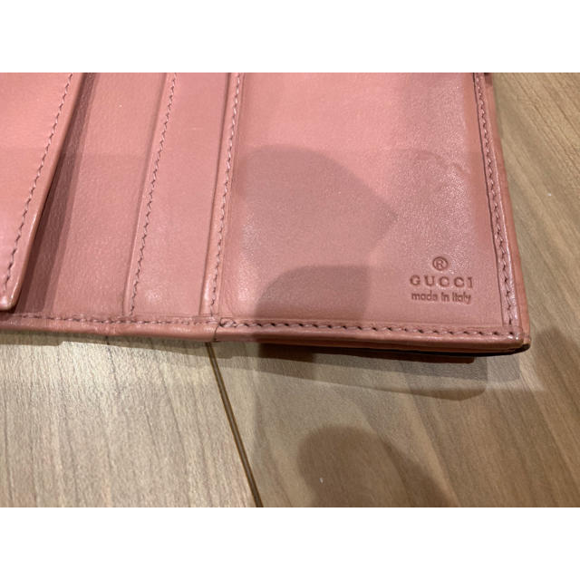 Gucci(グッチ)のブークレー様専用 GUCCI 長財布 ピンク レディースのレディース その他(その他)の商品写真