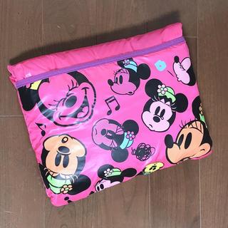 ディズニー(Disney)のミニーちゃん 総柄 ブランケット(毛布)