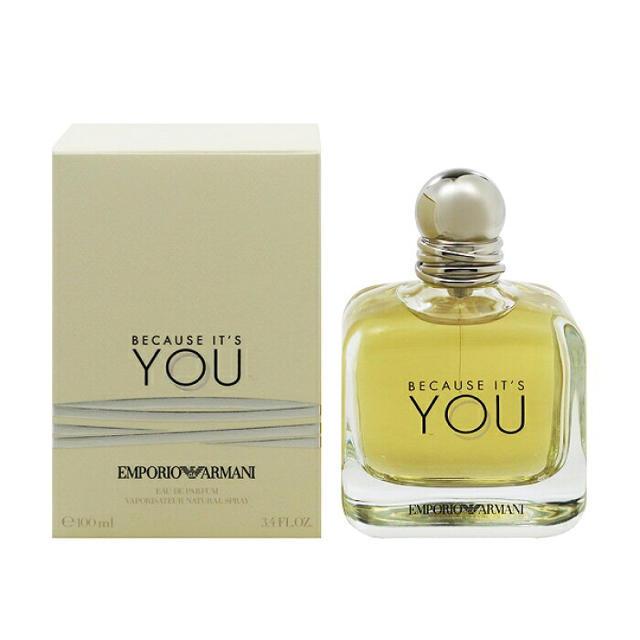 Armani(アルマーニ)のARMANI 香水 ビコーズ イッツ ユー コスメ/美容の香水(香水(女性用))の商品写真