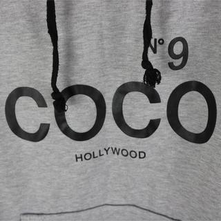 ココ(Coco)のCOCO パーカー オーバーサイズ ボード スケボー(パーカー)