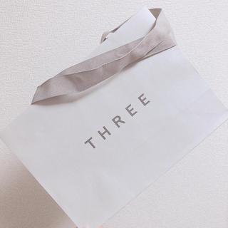 THREE スリー 紙袋