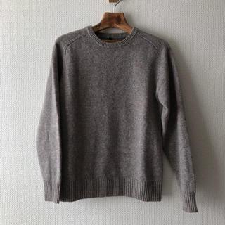 ムジルシリョウヒン(MUJI (無印良品))の無印良品セーター ニット ベージュ(ニット/セーター)