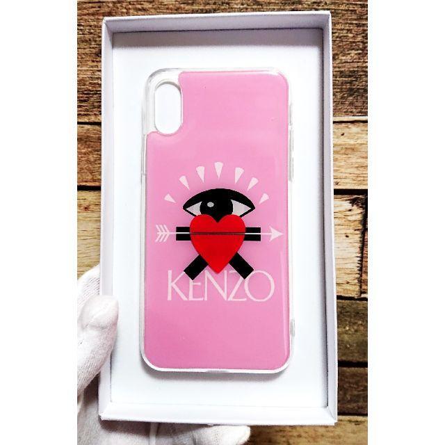 コーチ iphonexr ケース 芸能人 | KENZO - 限定新作☆KENZO iphonex/xsバレンタインデザインpinkの通販 by orange shop|ケンゾーならラクマ