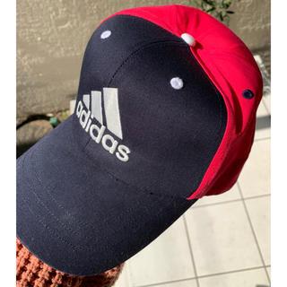 アディダス(adidas)のadidas レディースキャップ 濃ピンク(キャップ)