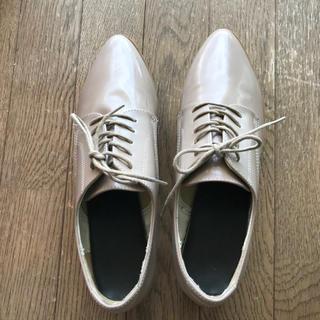 ジーユー(GU)の【送料込み】gu レースアップシューズ(ローファー/革靴)