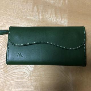 トチギレザー(栃木レザー)の新品未使用 革蛸 栃木レザー使用 ウォレット ハンドメイド 日本製 高品質(長財布)