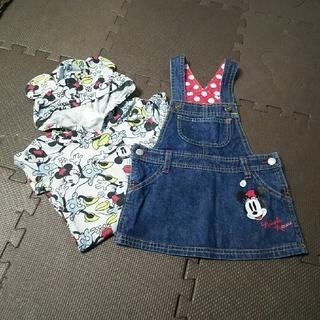 ディズニー(Disney)のDisney 90 オーバースカート&フード付半袖Tシャツセット(その他)