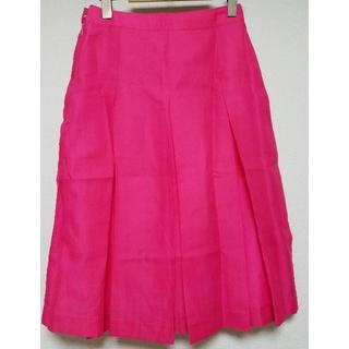 コキュ(COCUE)の【COCUE】プリーツスカート(ひざ丈スカート)