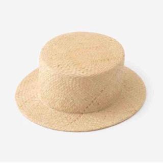 カオリノモリ(カオリノモリ)のsou sou ラフィア カンカン帽 麦わら帽子(麦わら帽子/ストローハット)
