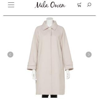 ミラオーウェン(Mila Owen)のステンカラースプリングコート✦新品タグ付き✦雑誌掲載商品(スプリングコート)