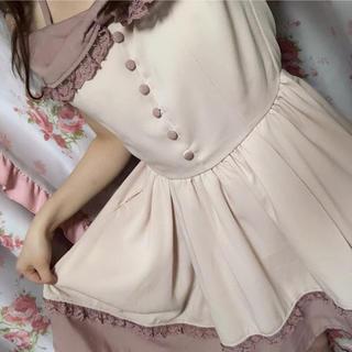 リズリサドール(LIZ LISA doll)のLIZLISADoll ♥ オフショルワンピース ピンク(ミニワンピース)