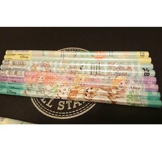 ディズニー(Disney)のディズニー 鉛筆 2B 8本セット(鉛筆)