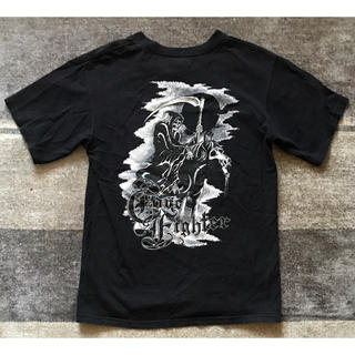 コアファイター(corefighter)の最高のバックプリント コアファイター 死神 スカル 髑髏 ドクロ Tシャツ(Tシャツ/カットソー(半袖/袖なし))